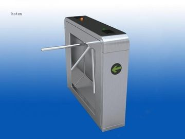 China Waist Arm Dropping Tripod Turnstile Gate With LED Direction Indicator supplier
