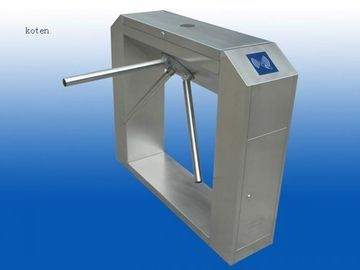 China Anti Tailor Pedestrian Turnstile Gate With Fingerprint Time Attendance factory