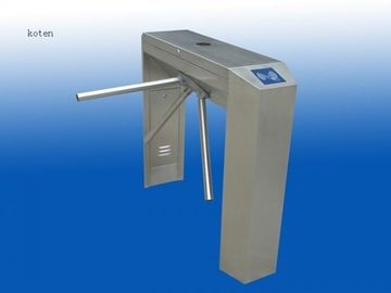 China Bi Directional Solenoid Tripod Turnstile Gate For Entrance / Exit Control distributor