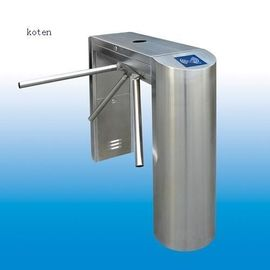 China Entrance Control Security 3 Arm Turnstile Half Height Supermarket Turnstile factory