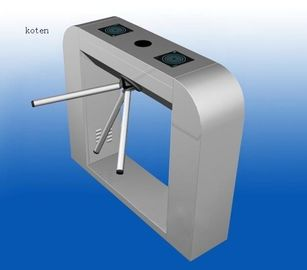 China 3 Drop Arm Tripod Turnstile Gate Pedestrian Security With Shock Absorber factory